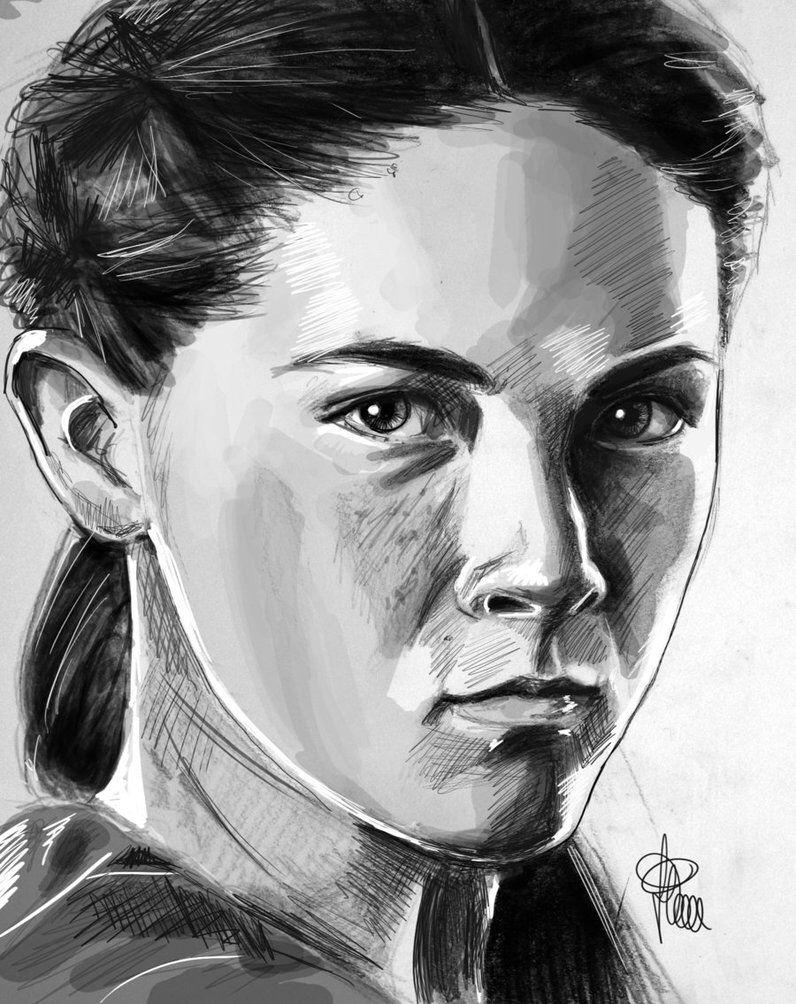 Hunger Games Drawing Clove Hunger Games Drawings Hunger Games Clove Hunger Games [ 1004 x 796 Pixel ]