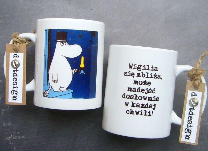 Dotdesign Muminki Wigilia Wzory Do Wyboru 4825866568 Oficjalne Archiwum Allegro Glassware Tableware Mugs