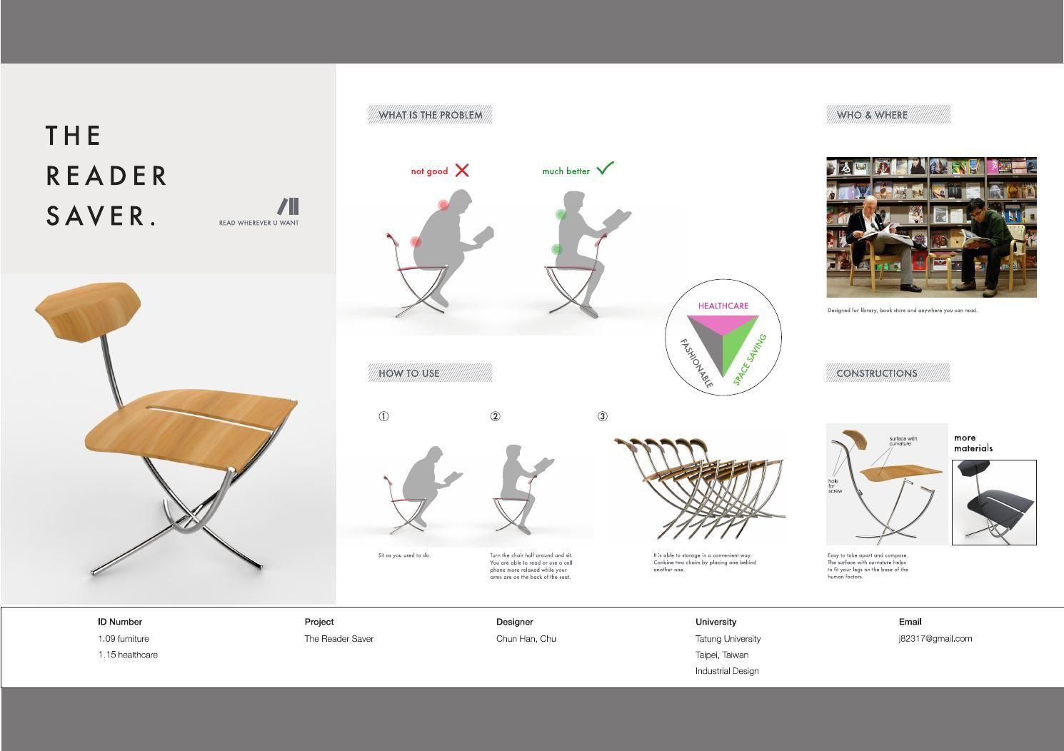 if展板'14 reader saver02   presentation board design