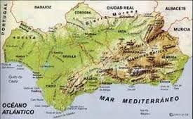 Mapa De Andalucía Físico.Resultado De Imagen De Mapa Fisico De Andalucia Mapa