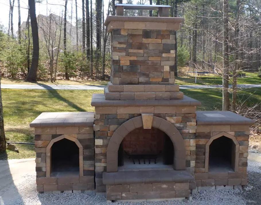 Outdoor Fireplace Kits For Sale Letnyaya Kuhnya