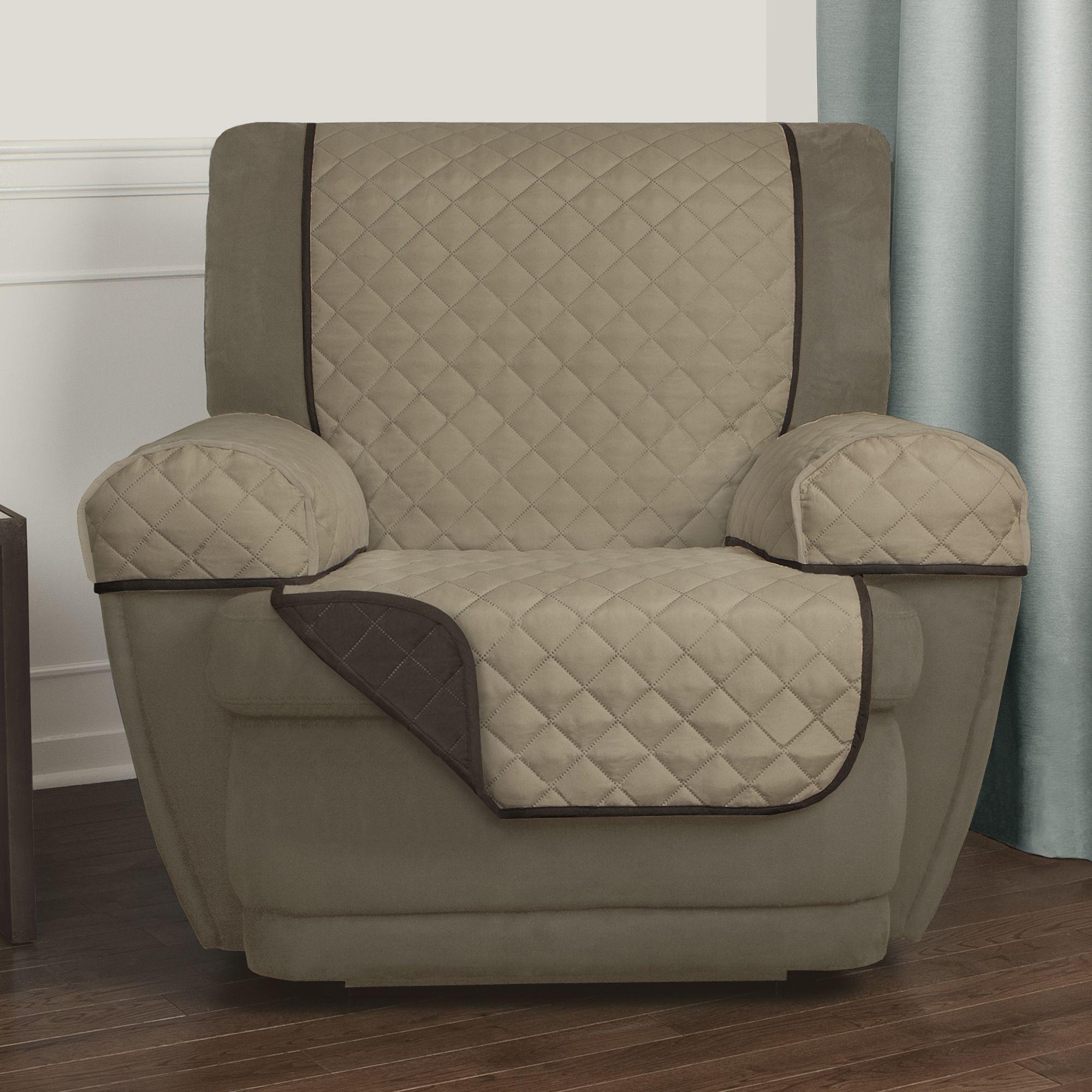 Wondrous Maytex Reversible 3 Piece Microfiber Recliner Pet Cover Alphanode Cool Chair Designs And Ideas Alphanodeonline