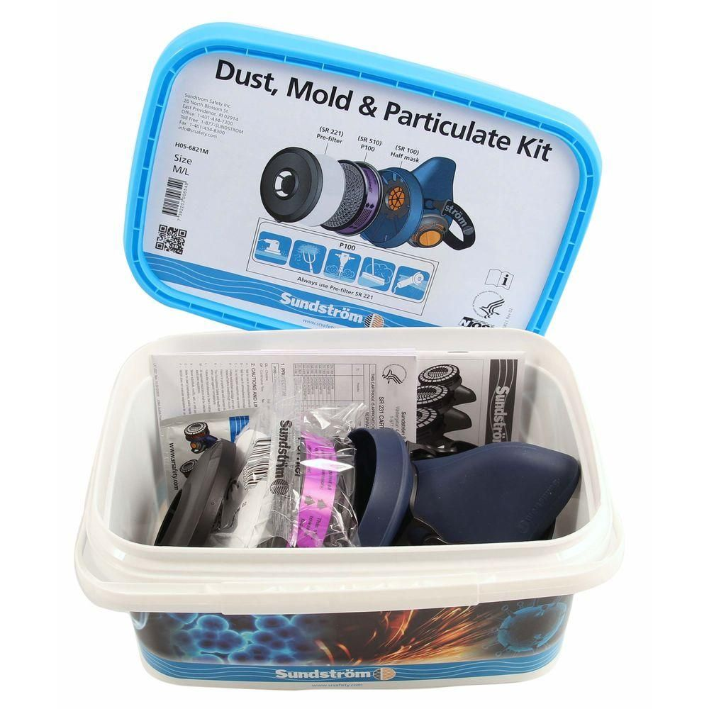 Sundstrom Safety Dust, Mold & Particulate Kit (Sil Mask) S