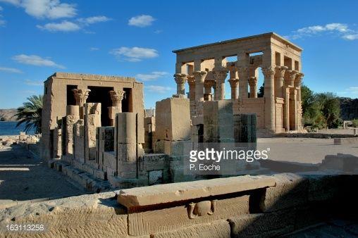 Philae Temple, temple of hathor,Trajan kiosk