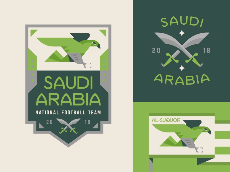 Saudi Arabia (With images) Saudi arabia, Badge design