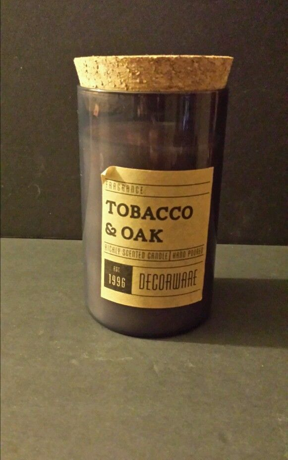 Dw Home Richly Scented Tobacco & Oak Candle Hand Poured 13 ...