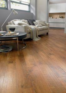 Good Traditional Living Premium Laminate Flooring Handscraped Oak