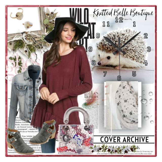 """""""Knitted Belle Boutique"""" by lip-balm ❤ liked on Polyvore featuring LE3NO, 143 Story, Blandice, ShoeMaiden, Christian Dior, Nearly Natural, women's clothing, women's fashion, women and female"""