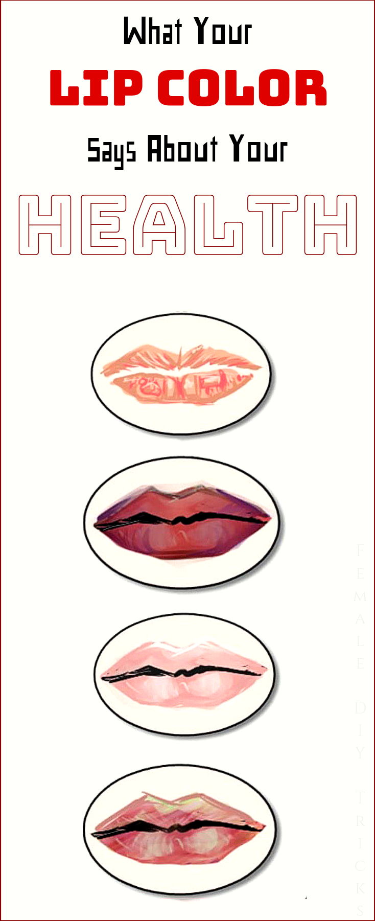 What Your Lip Color Says About Your Health?