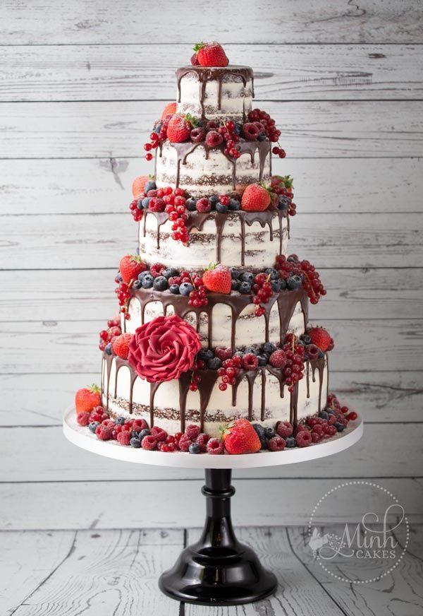 Kleine Auswahl unserer Lieblingskuchen der letzten Jahre. Die Dekorationen sind …   – Wedding cakes