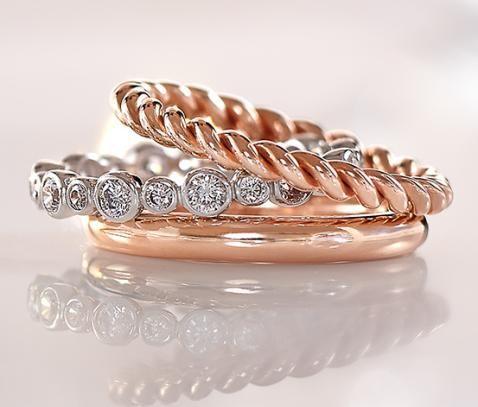 Silber-Ring-Set online bestellen bei Tchibo 314139 - 40€