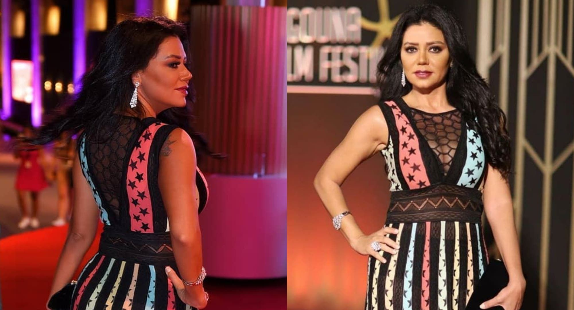 رانيا يوسف تثير سخرية الجمهور في مهرجان الجونة السينمائي شاهدوا السبب