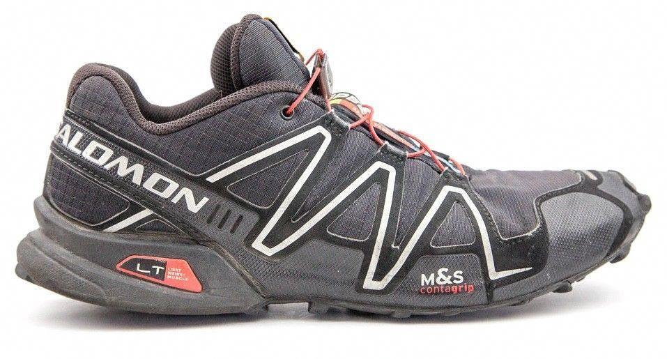 2c437f6f396d5 Men's Salomon Speedcross 3 Black Athletic Running Outdoor Hiking ...