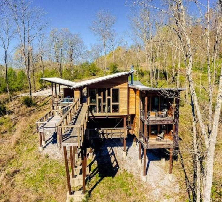 The Treehouse Of Center Hill Lake Cabins For Rent In
