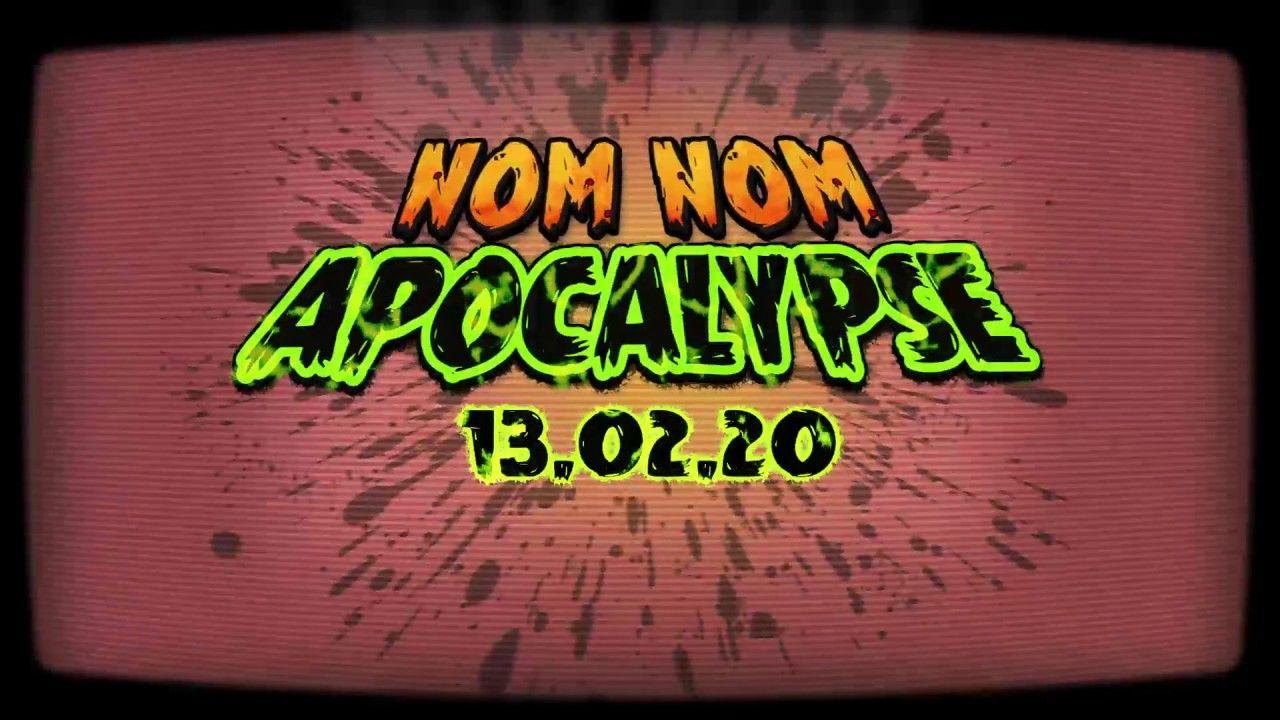 Nom Nom Apocalypse top down rogue like shooter PC PS4 Xo