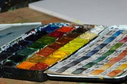Pin Auf Watercolor Palettes