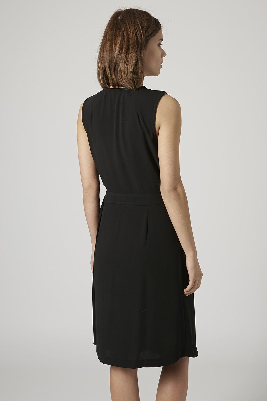 d68595cf4 Pleated Wrap Midi Dress   Ladies Shift Dresses   Dresses, Clothes ...