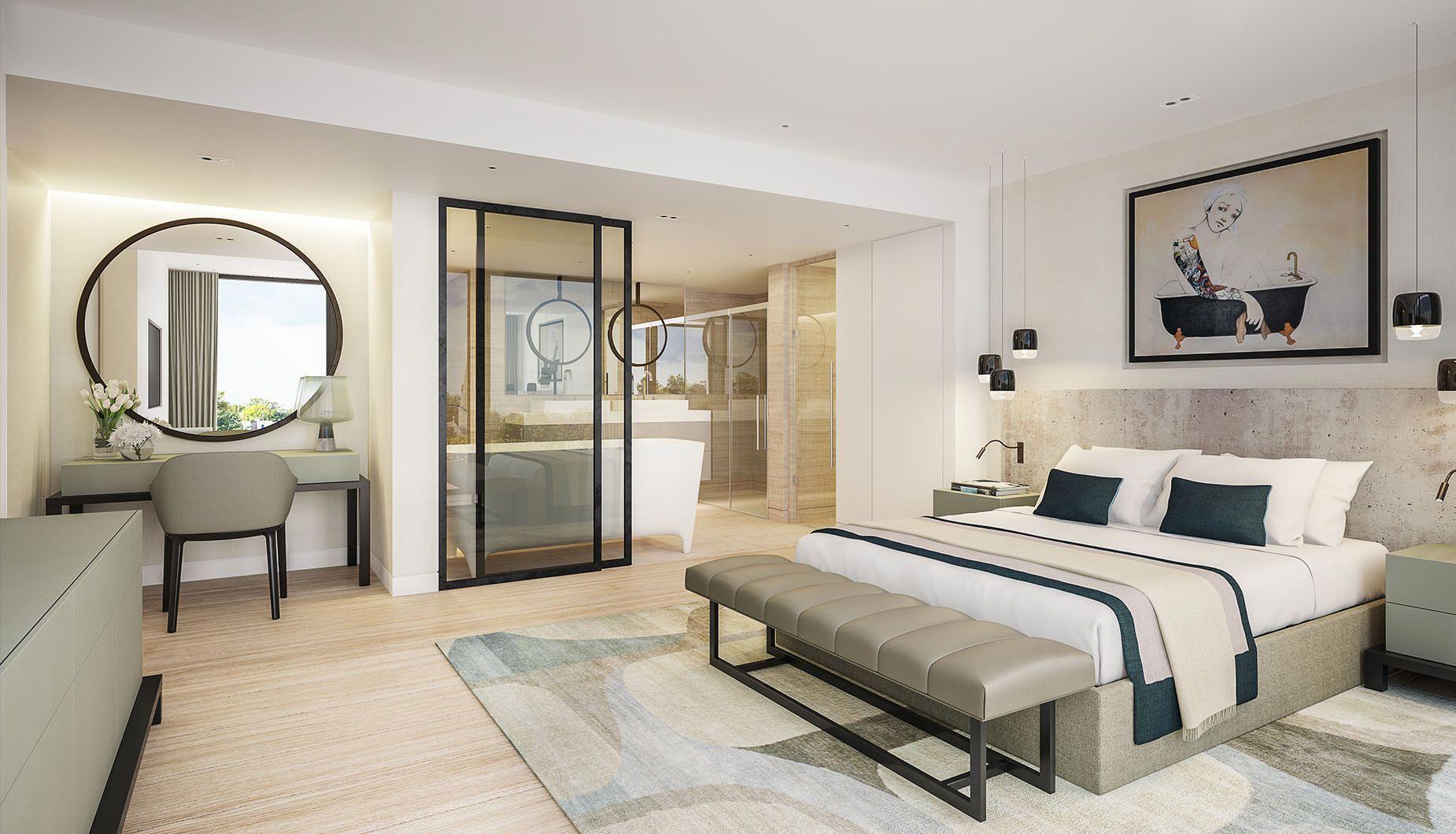 Ihr Schlafzimmer Teure Schauen Ohne Ein Bundel Verbringen Luxus