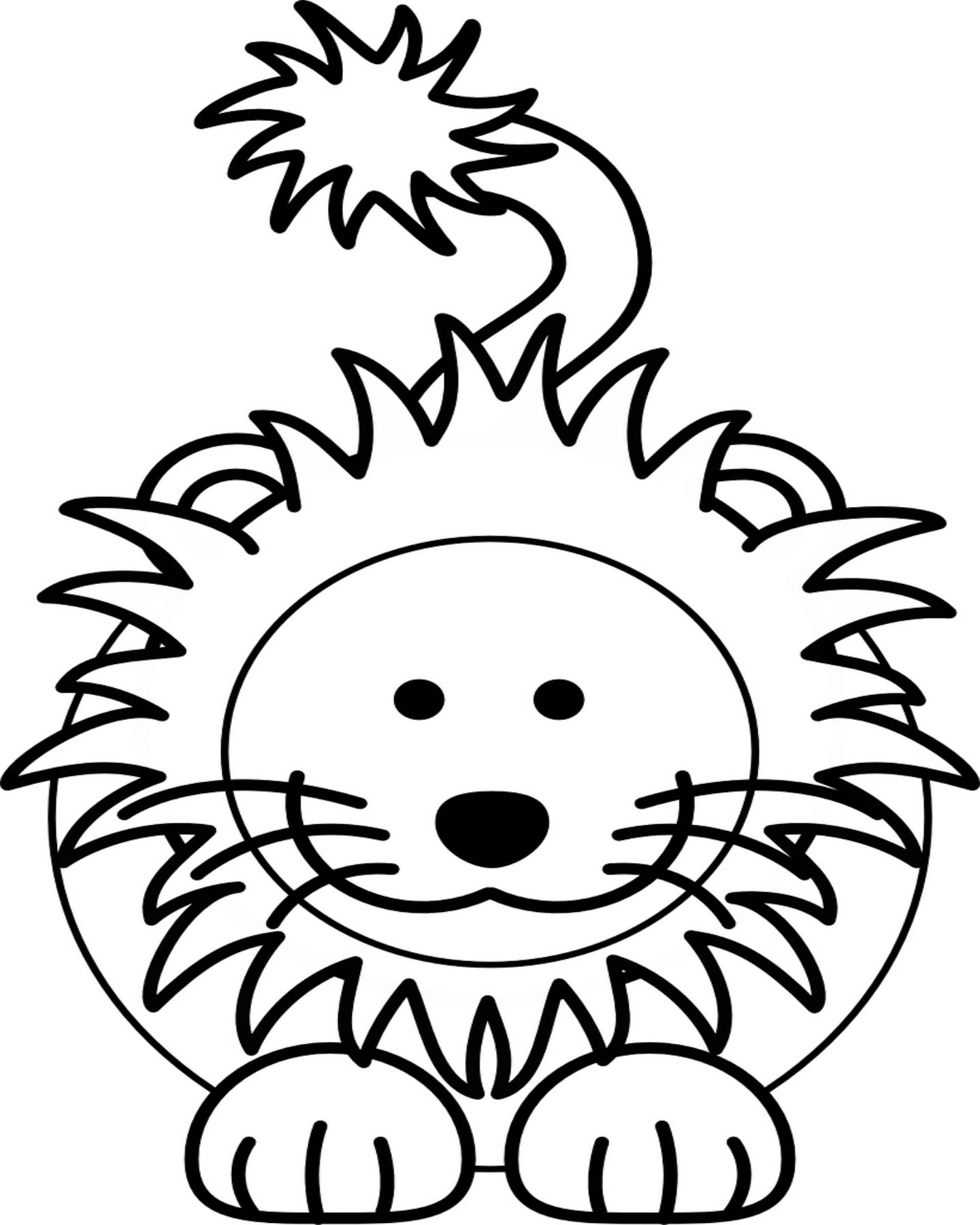 Free printable lion coloring page printable coloring pages crafts
