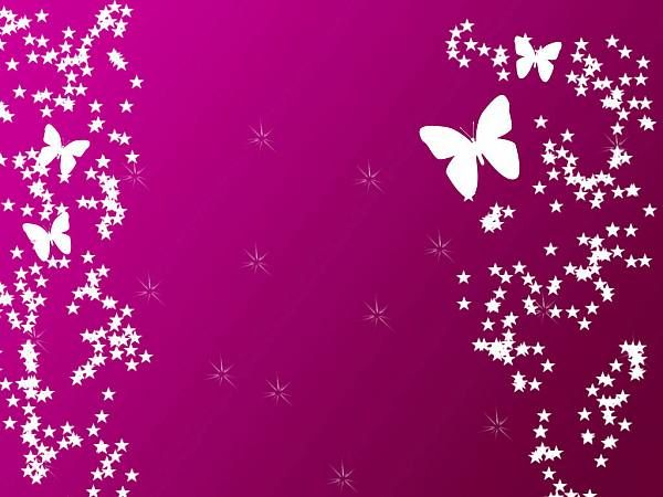 pink and purple butterfly