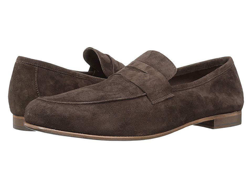7c9f1532ab7 Massimo Matteo Suede Penny Loafer (T. Moro Suede) Men s Slip on Shoes.