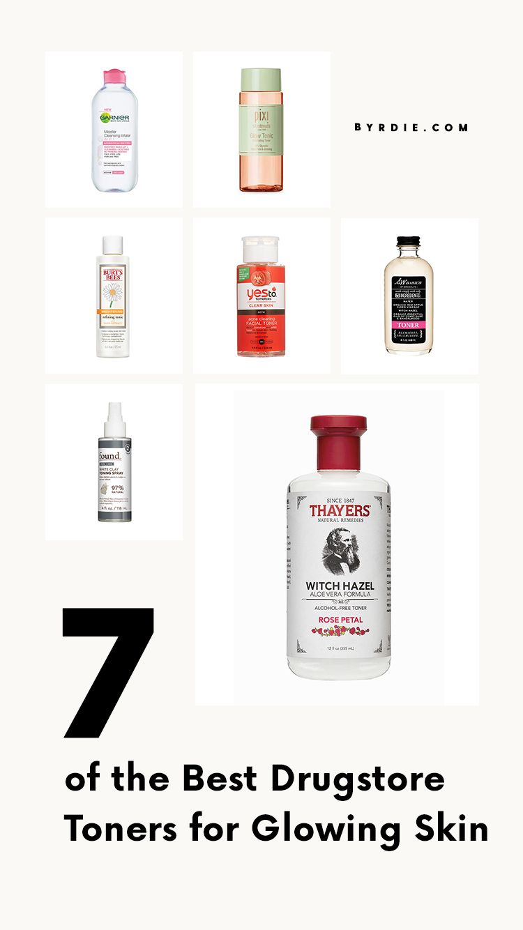 The 8 of the Best Drugstore Toners for Glowing Skin  Best