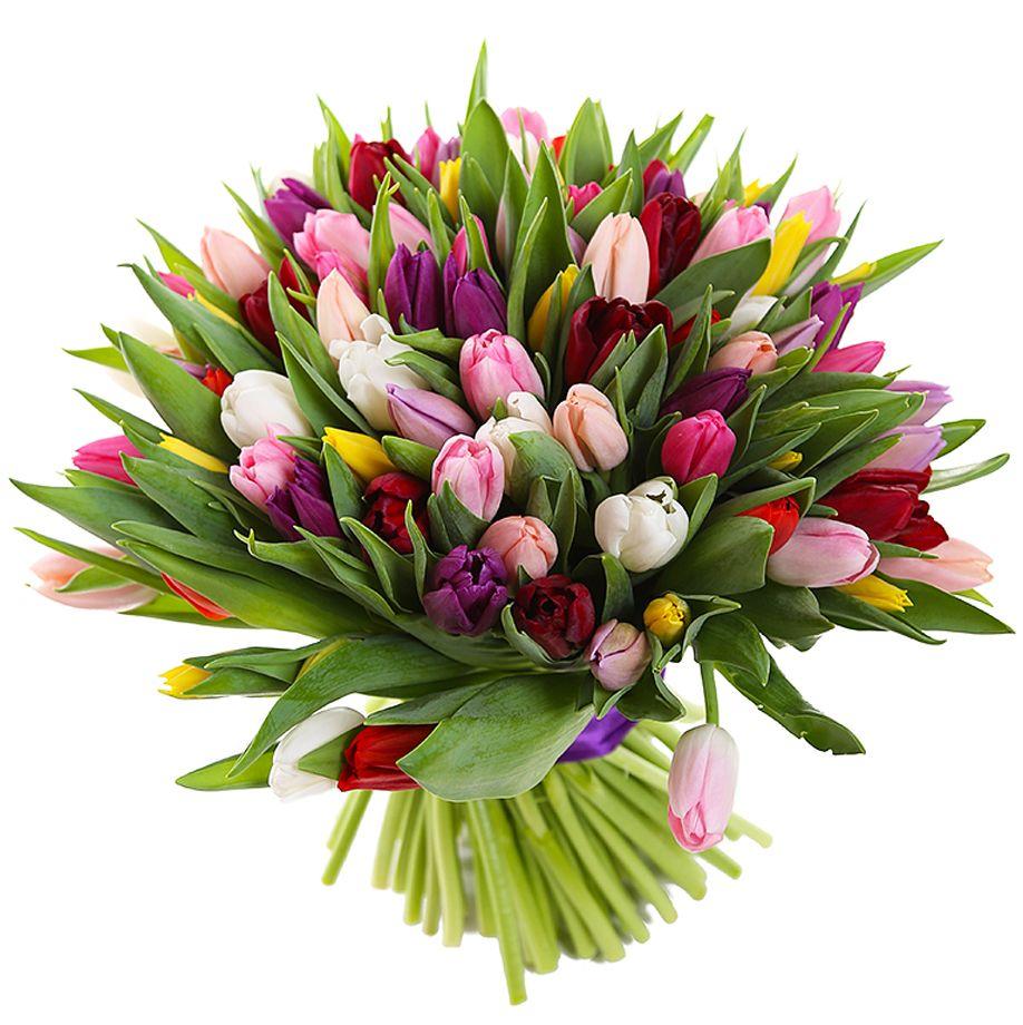 Самые красивые букеты тюльпанов в мире, инаугурацию