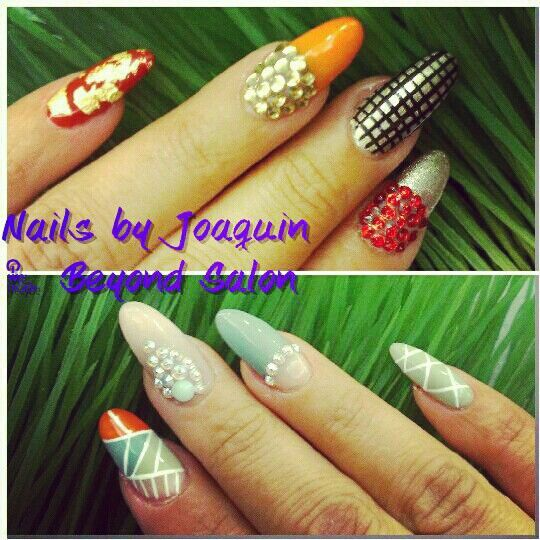 My nails by Joaquín
