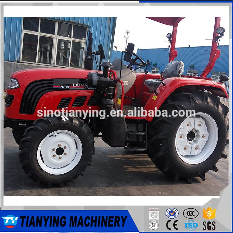 FOTON/LOVOL farm tractor 50HP 4X4 504 with high quality