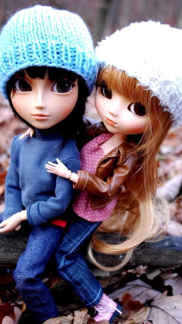 Wallpaper Love Couple Cute Doll Pics
