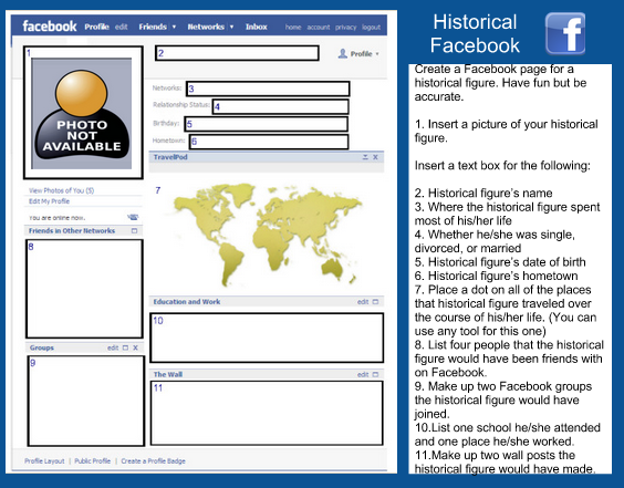A Wonderful Free Facebook Template for Teachers ~ Educational Technology and Mobile Learning