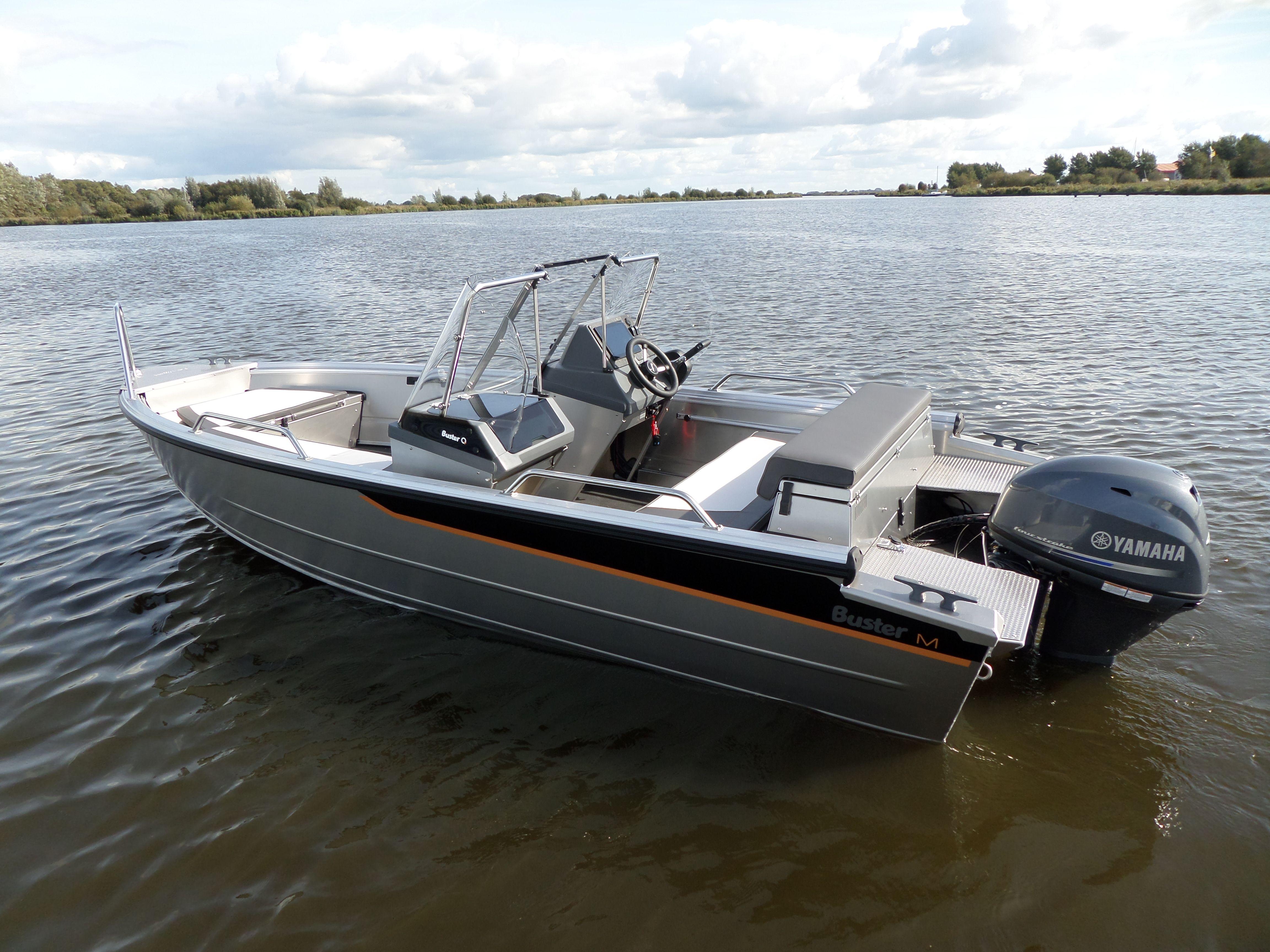 Wonderbaarlijk Buster M2, Een heerlijke compacte aluminium consoleboot!   Buster OP-54