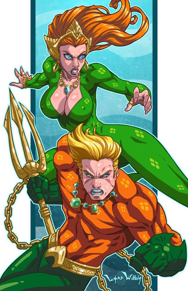 Aquaman And Mera By Lordwilhelm On Deviantart  Aquaman -5832