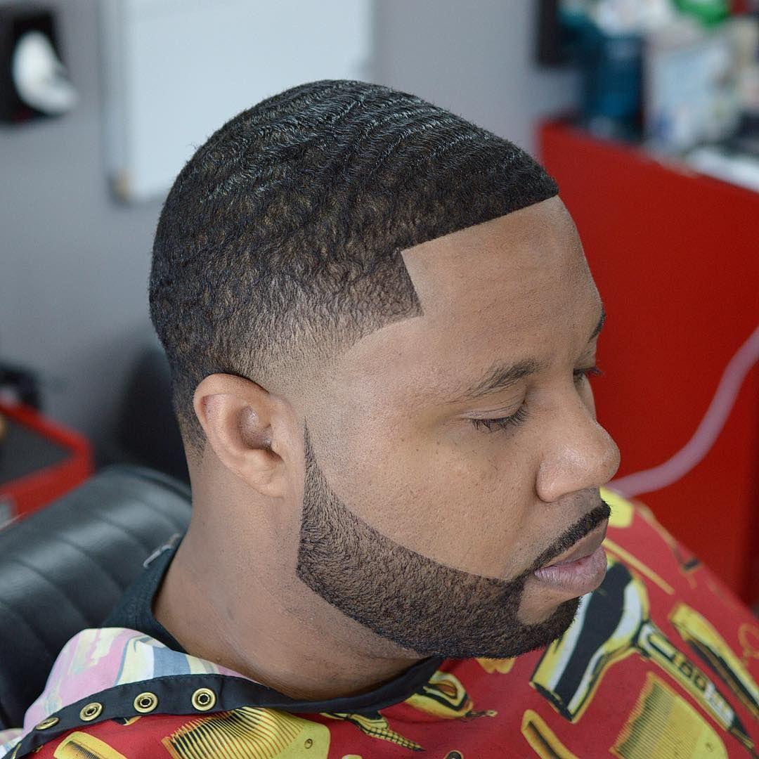 Black men haircuts  Waves  Taper Fade  Disconnected Beard  Black
