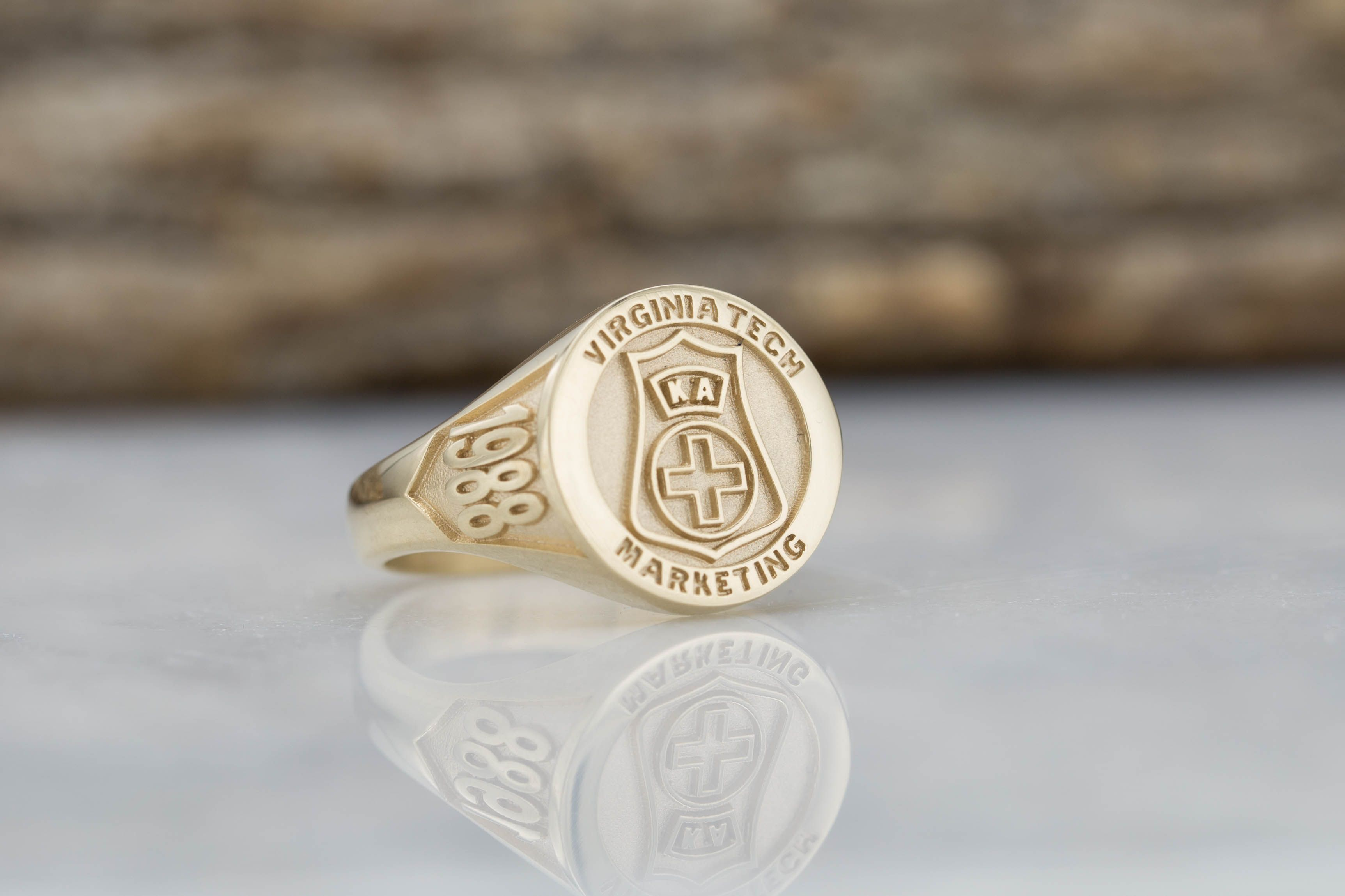 work ring gold shsu rings wg front white copy college ringwraps original custom