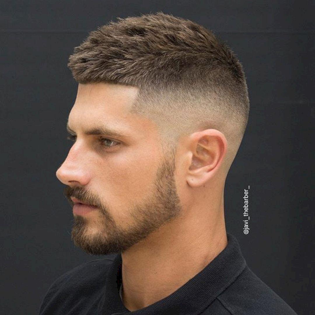 Short haircut ideas men  cool short hairstyles for men looks more handsome  short