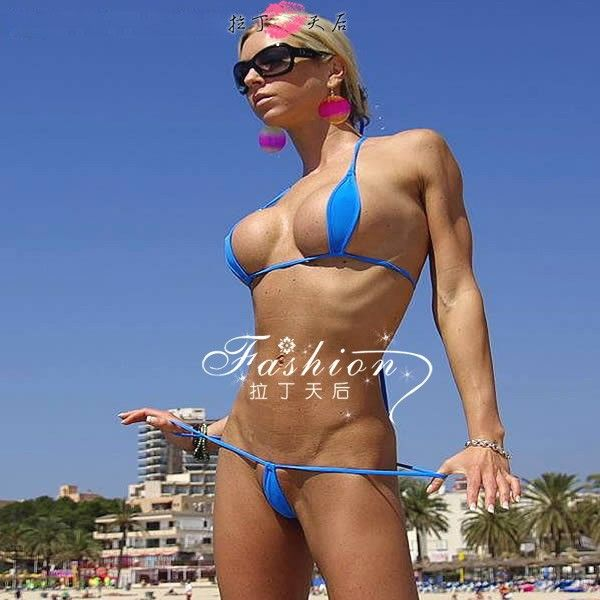 e86feed17bd 2014 Sexy Tiny Bikini Swimwear Mini Micro Swimwear Women Extreme See  Through Bras Suits 4 models