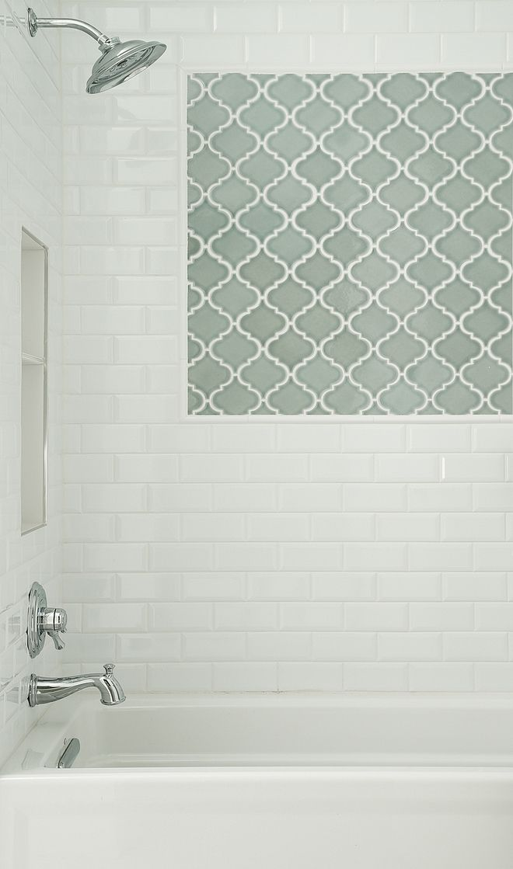 Bathroom Accent Wall Tile Mosaics