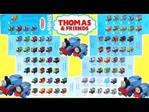 Thomas And Friends Minis Checklist 70 Tank Engines Locomotive Dino