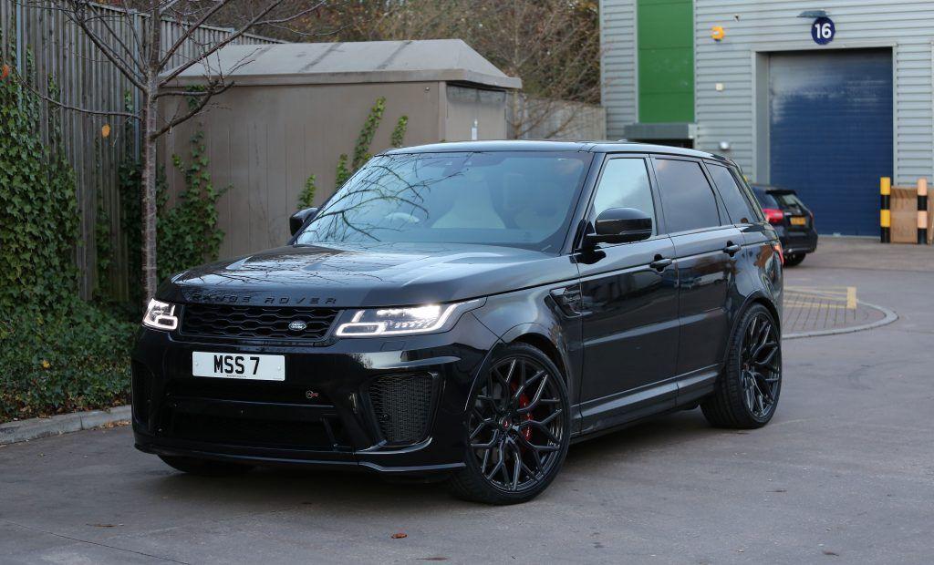 2019 Range Rover Sport Svr Gets New Vossen Forged S17 01 Wheels Prestige Wheel Centre News Range Rover Range Rover Sport New Range Rover Sport