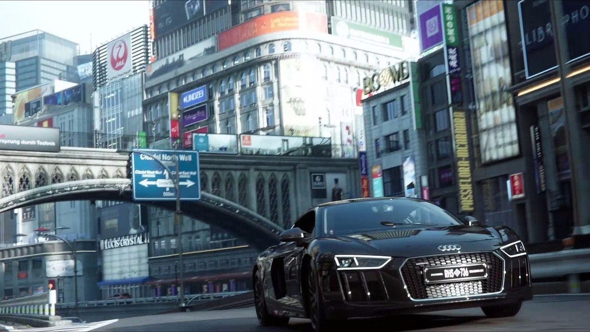 Audi R8 V10 Plus Final Fantasy Xv Movie Edition 2016 Final Fantasy Xv Final Fantasy Best Yachts