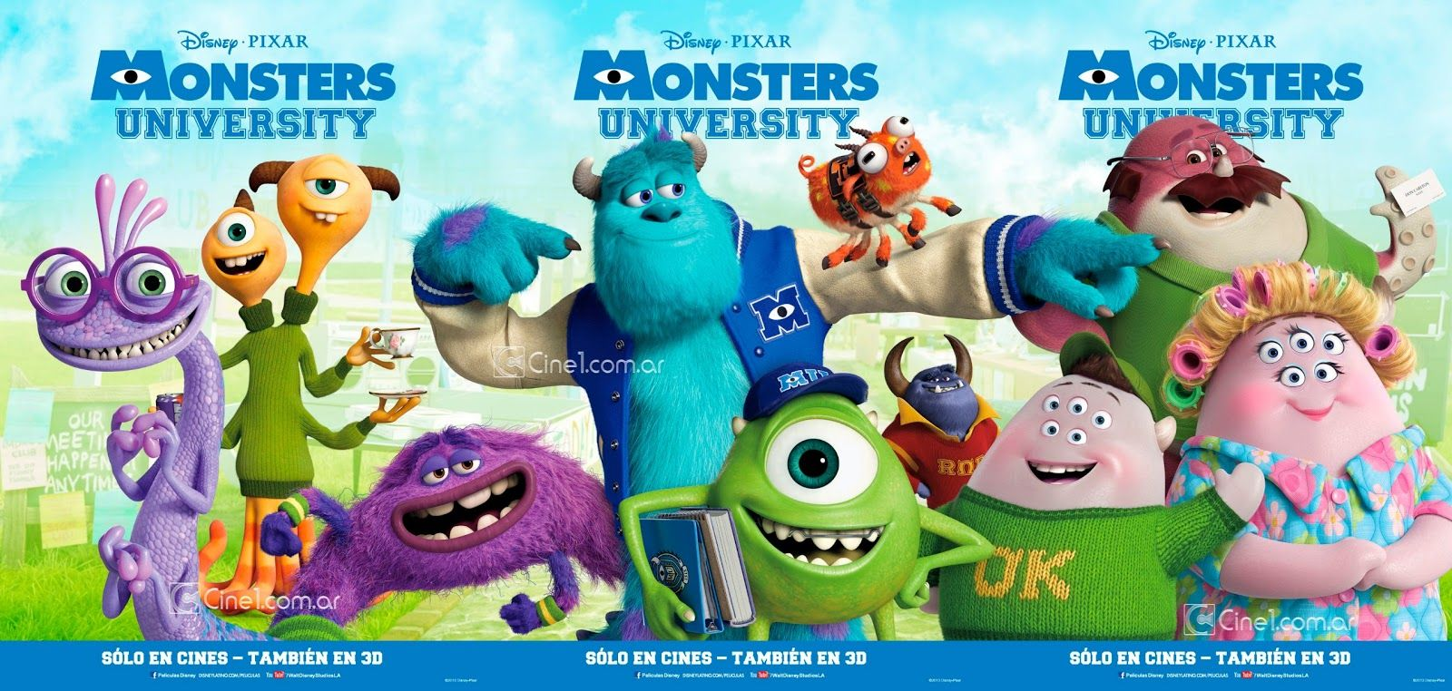 New Foreign Promotion For Pixar S Monsters University Monster University Kid Movies Disney Kid Movies