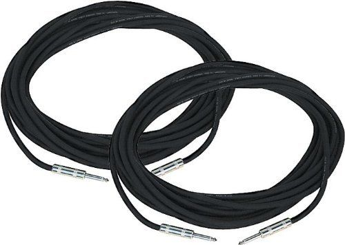 Rapco Horizon Speaker Cable 18-Gauge 20 Feet 2-Pack by Rapco