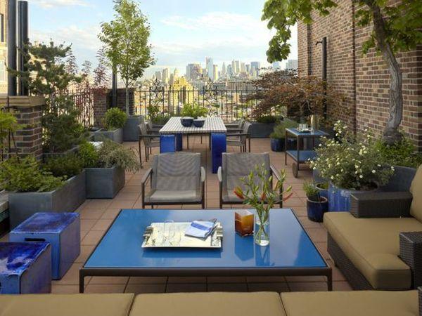 Balkon Fliesen Patio Möbel Pflanzen Kübel Terrasse Pinterest - pflanzen topfen kubeln terrasse