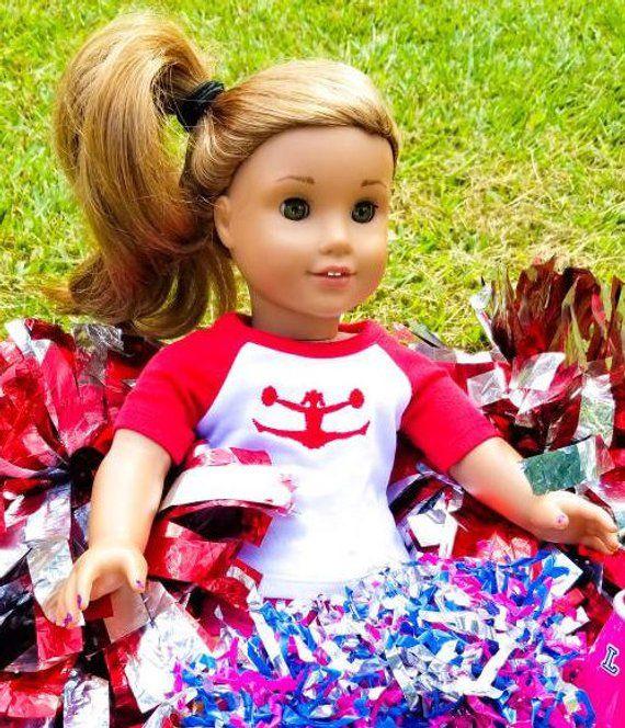 Cheer 18 Inch Doll Shirt #18inchcheerleaderclothes