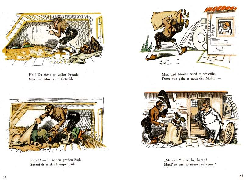 a children 39 s classic by wilhelm busch max und moritz repinned by b cher. Black Bedroom Furniture Sets. Home Design Ideas