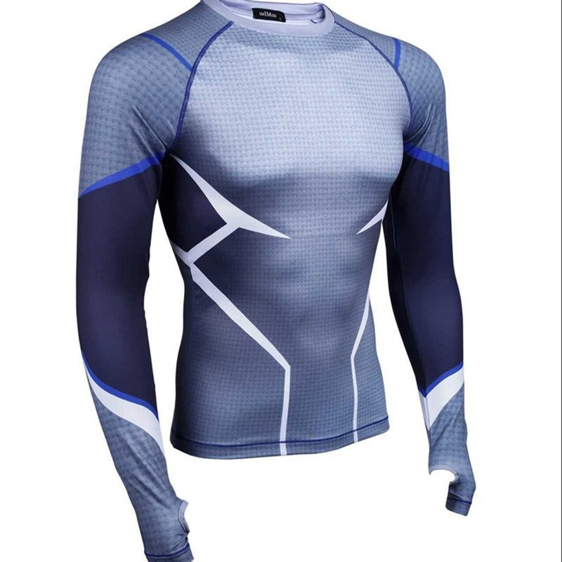 Activewear Tops Activewear Frank Rugby Sports Skins Longsleeved Unbranded Size Small Black A Wide Selection Of Colours And Designs