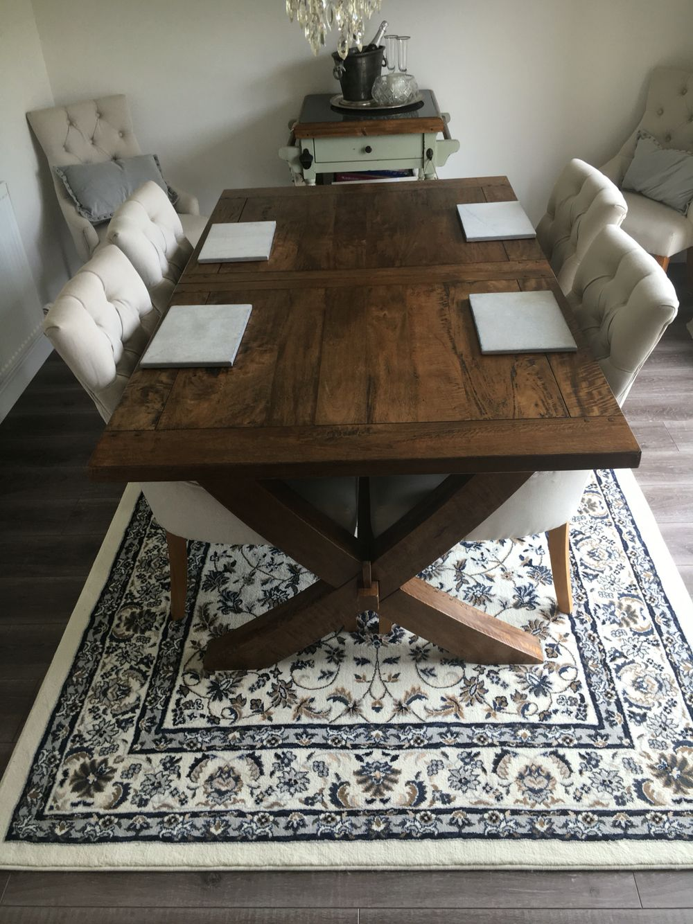 Ikea Vall 246 By Rug Low Chandelier Butchers Block Pinteres