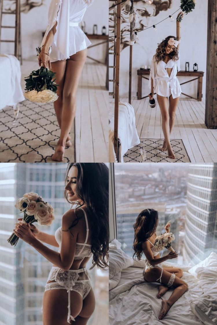 24 Wedding Boudoir Photo Ideas for Any Bride in 2020