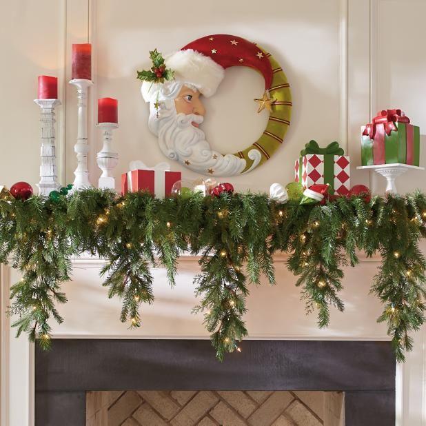 6' Cascading Christmas Garland | Grandin Road